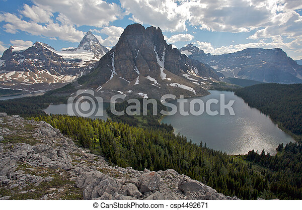 Mount Assiniboine, Canadian Rockies - csp4492671