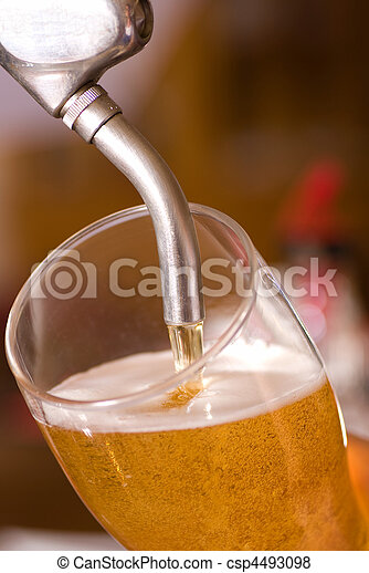 Draft beer - csp4493098