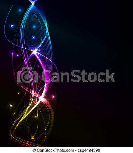 glowing abstract background - csp4494398