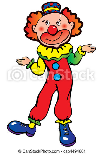 Clown. - csp4494661
