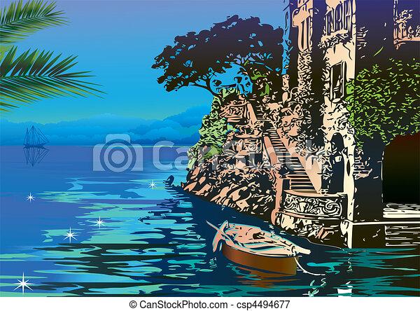 Seascape. - csp4494677