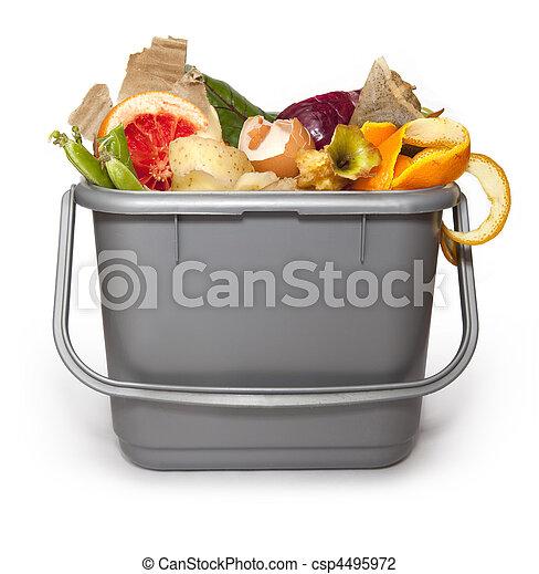Kitchen composting bin - csp4495972