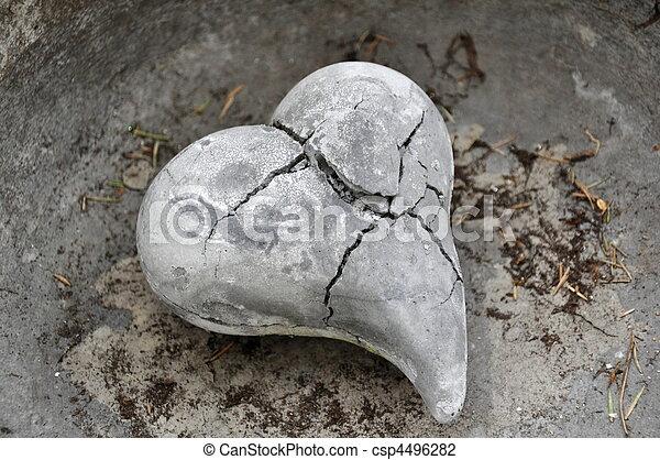 Broken Heart - csp4496282