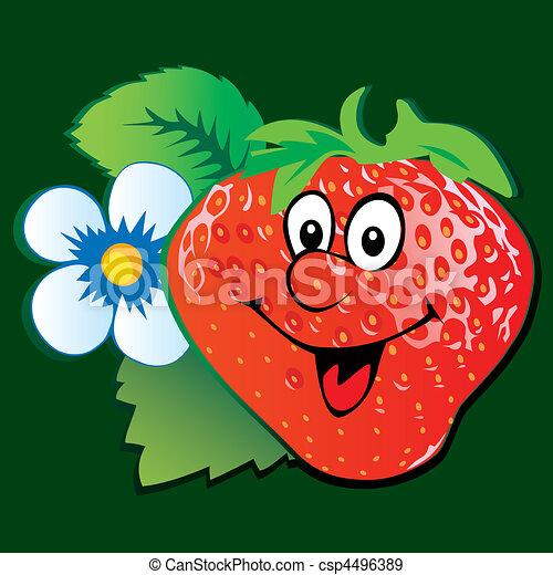 Strawberry. - csp4496389
