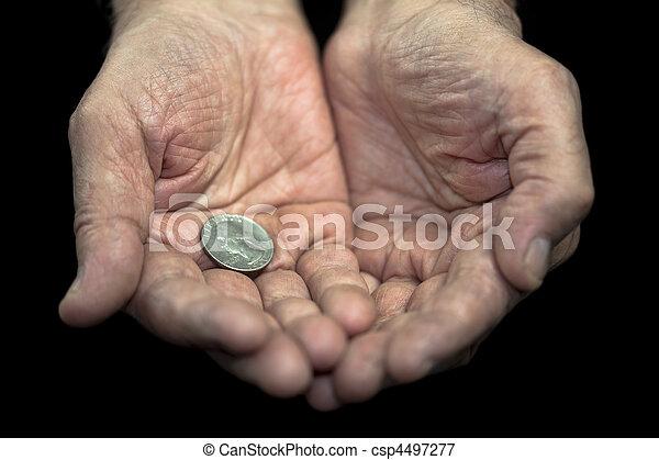 Poverty - csp4497277