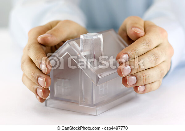 Protect Your House - csp4497770
