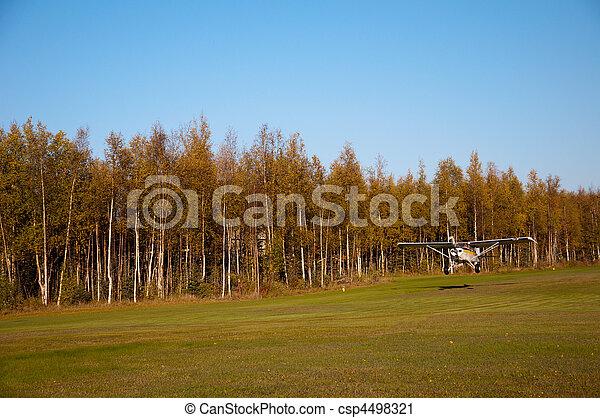 PA-22 on Takeoff - csp4498321