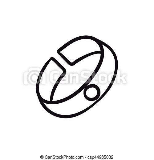 Armband clipart  Vektoren von skizze, armband, icon. - Bracelet, skizze, ikone, für ...