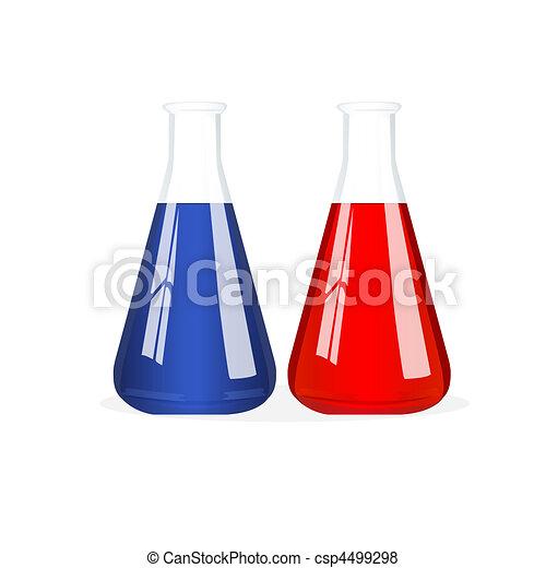 isolated beakers - csp4499298