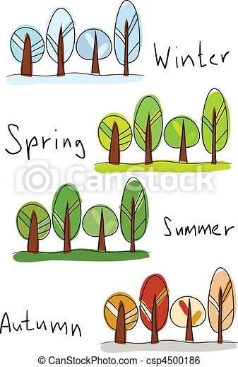 Four seasons - csp4500186