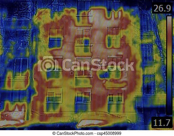 Facade Thermal Image - csp45008999