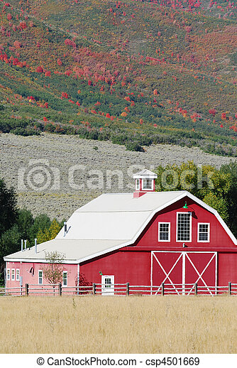 Red Barn - csp4501669