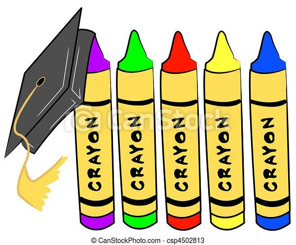 pre school graduation - csp4502813