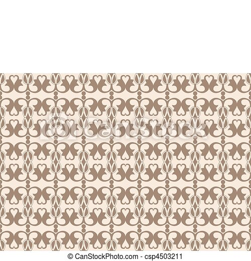 Seamless background with classical ornament - csp4503211