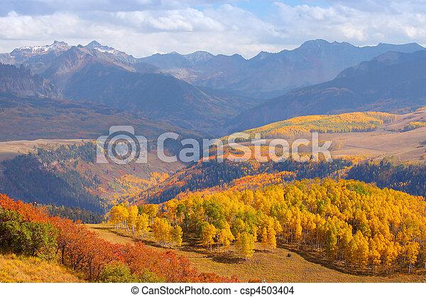 Autumn in Colorado - csp4503404