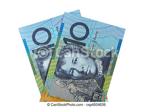 Two Australian Ten Dollar Notes - csp4504636