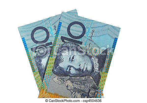 Two Australian Ten Dollar Notes - csp4504636
