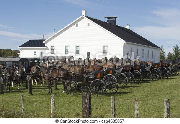 horse and buggies - csp4505857