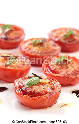 Slow-Roasted Tomatoes - csp4506163