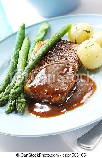 Steak Dinner - csp4506165