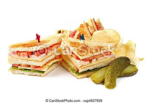 Club Sandwiches - csp4507939