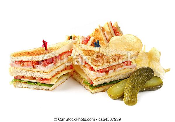 Club Sandwiches - csp4507939