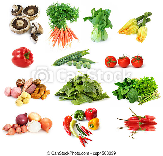 Vegetables Collection - csp4508039