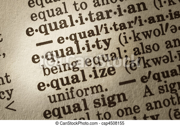 Definition of Equality - csp4508155