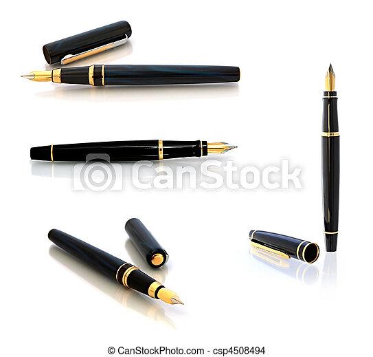 Fountain Pen - csp4508494