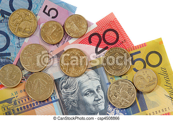 Australian Money - csp4508866