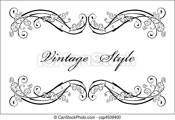 classical vignette - csp4509400