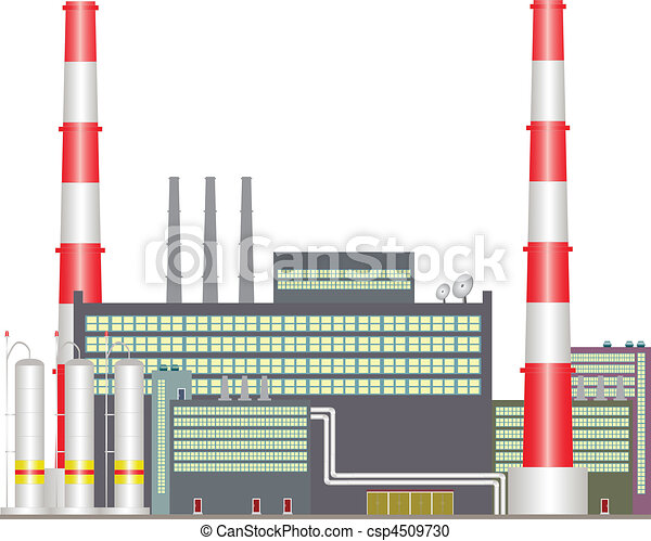 Heat power station. - csp4509730