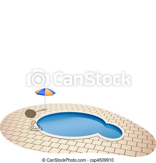 swimming pool - csp4509910