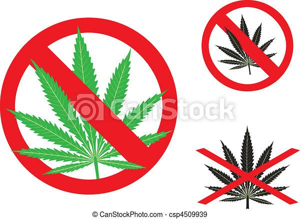 The hemp is forbidden - csp4509939