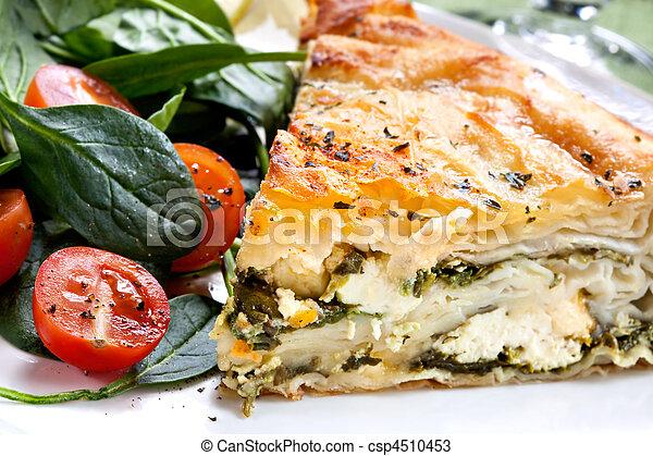 Spinach Pie - csp4510453