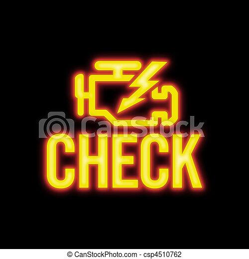 Check Engine Signal - csp4510762