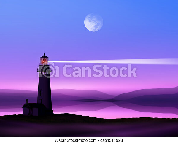 latarnia morska - csp4511923