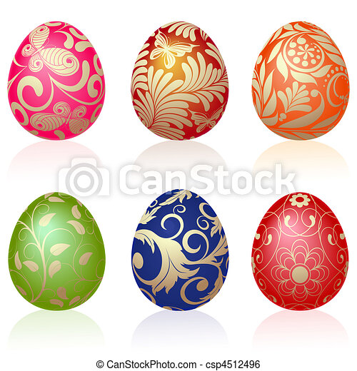Easter eggs - csp4512496