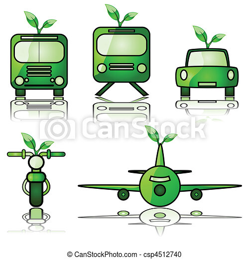 Green transportation - csp4512740
