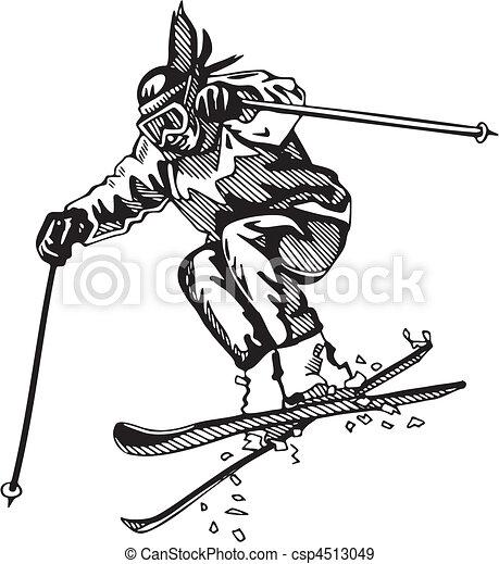 Skiing & Snowboarding - csp4513049