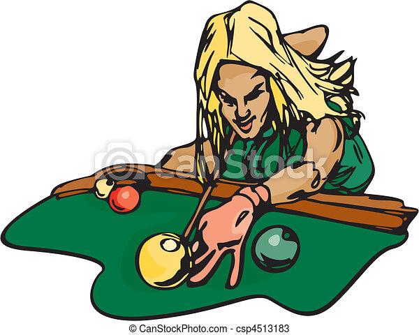 Pool Hall & Darts - csp4513183