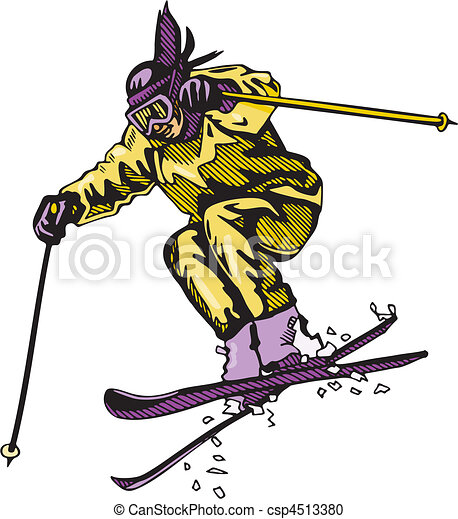 Skiing & Snowboarding - csp4513380