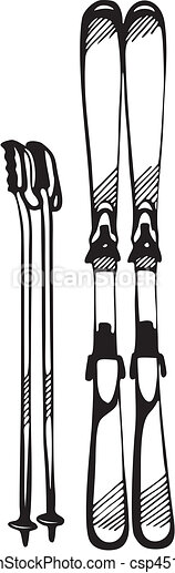 Skiing & Snowboarding - csp4513441