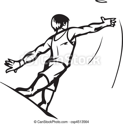 EPS Vector of Track & Field csp4513564 - Search Clip Art, Illustration ...