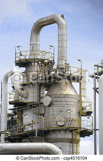 Oil Refinery - csp4516104