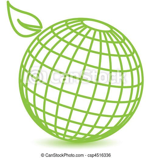 green globe clip art Green Globe Clip Art