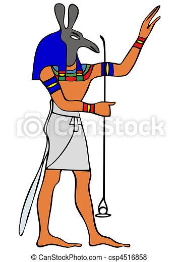 God of Ancient Egypt - Seth - csp4516858
