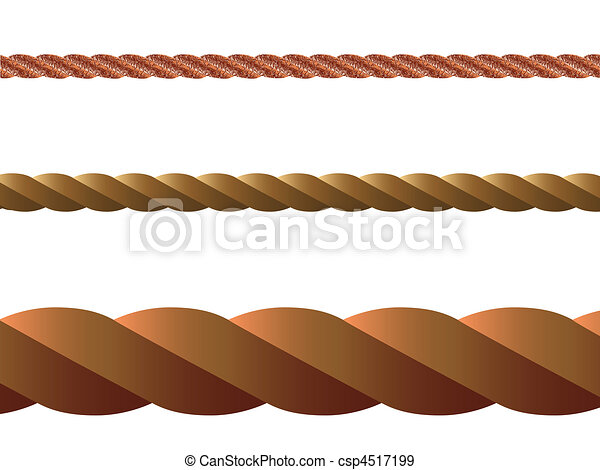 rope vector - csp4517199