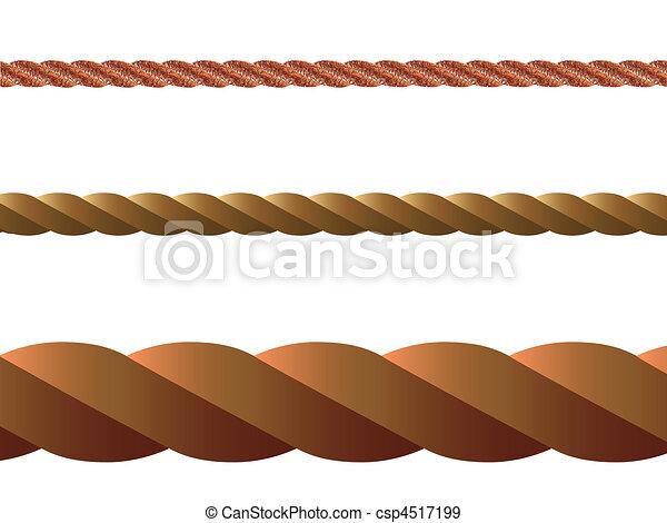rope vector - csp4517199