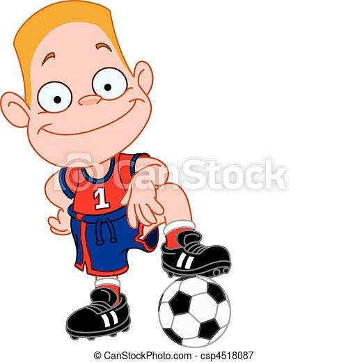 Soccer kid - csp4518087